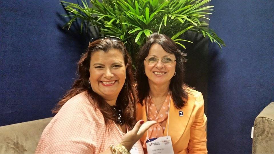 Solange Cruz encerra o Concarh 2015 com as histórias de superação da Mocidade Alegre