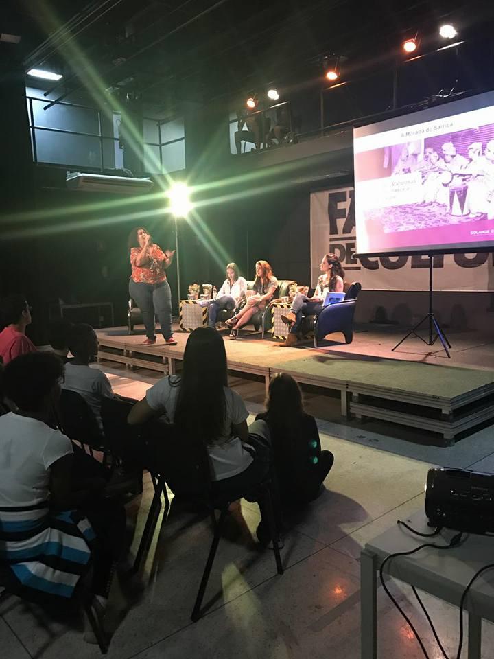 Palestra realizada na Fábrica de Cultura Inspira Mulheres e Jovens